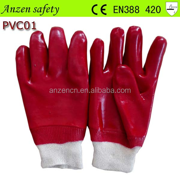 hot sale water proof PVC gloves from china at the best price