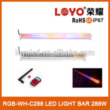 Newest high power led double side work lightbar emergency car traffic amber strobe light bar