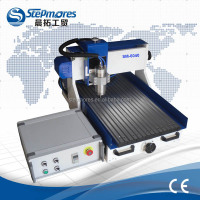 Jinan solid mini cnc 4 axis 6040 stepmores / cnc router 4 axis with CE