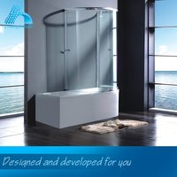 Popular Design Sliding Shower Screen Accessories For Bathroom