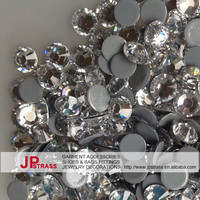 Cheap price hot fix rhinestones ss20 5mm crystal flat back in jpstrass wholesale supplier
