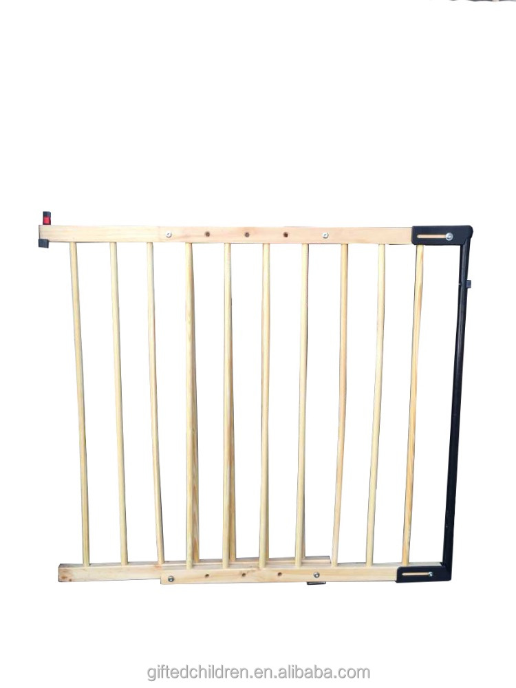 Wooden Baby Safety Gate/ Indoor Dog Gate/Stairway folding Pet Fence
