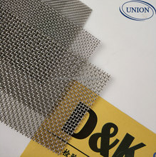 food grade 304 316 stainless steel wire mesh