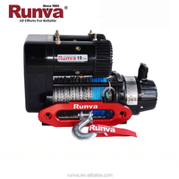 Runva Factory price Most popular 12V 10000 lbs Electric Power Source and Auto Application 4x4 electric winch