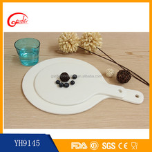 China suppliers ceramic pizza plates microwave baking tray for restaurant