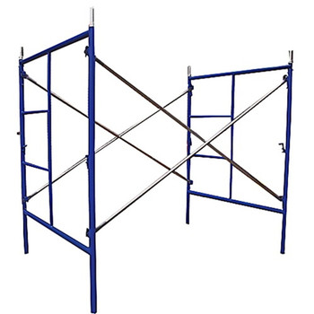 Tianjin Shisheng Powder Coated Light Duty Mobile Frame Scaffolding