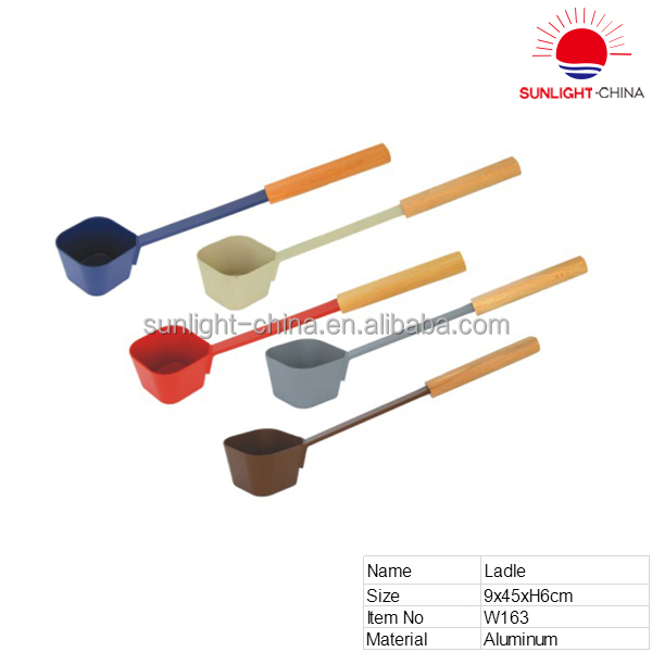 custom kitchen utensil frying tool soup ladle set