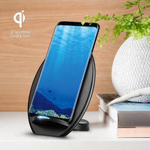 New product fast universal wireless mobile phone charger qi charging with CE ROHS FCC