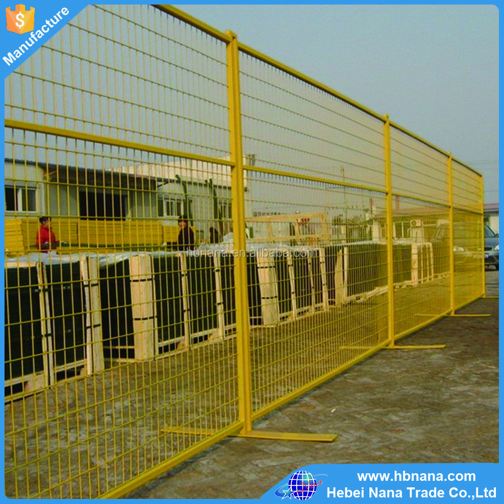 Construction Site Temporary Fence in Store / Cast iron gate match temporary fence