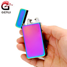 Wholesale single arc rechargeable lighter usb electronic arc rechargeable lighter