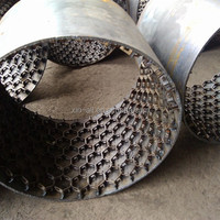 Perforated Hex Net Refractory Material 5