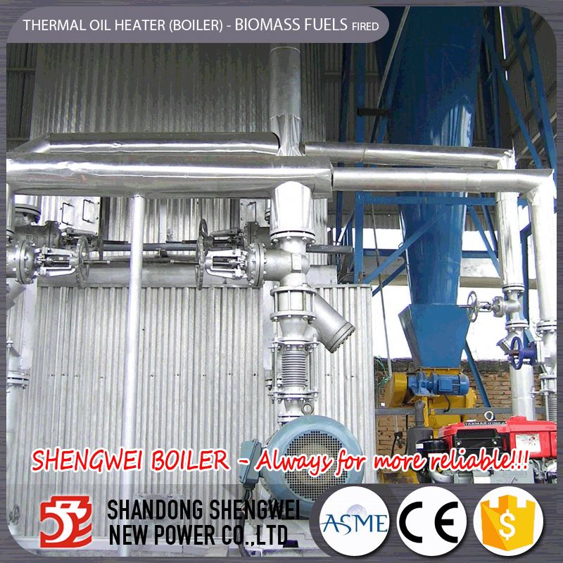 2t/H Biomass Paddy Thermal Oil Boiler Home