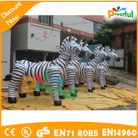 2016 party decoration inflatable zebra inflatable zebra cartoon model air balloon
