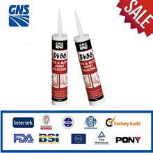Silicone caulking rubber sealant contact cement
