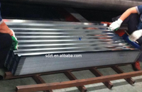 Galvanized corrugated steel roofing sheet roofing tile for building material