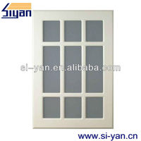 glass kitchen cabinet cheap interior mdf pvc door