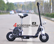 4 stroke 31cc cheap fold 2 wheel gas scooters for kids/adult
