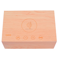 Professional factory portable bluetooth speaker music box wireless wood speaker with USB/SD/AUX/ FM Radio Bluetooth