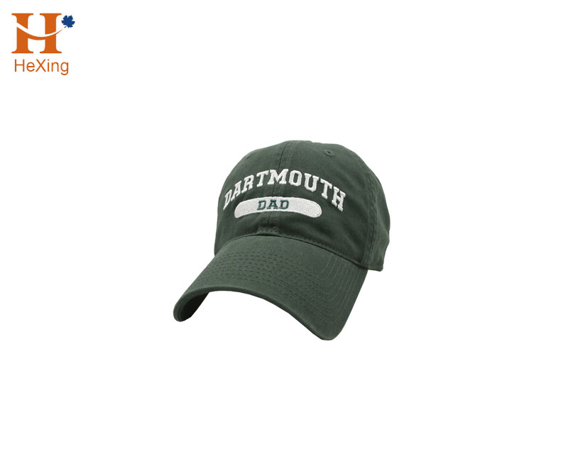 Custom Army Green Designer Dad Hats <strong>W</strong>/ White Embroidery Patch