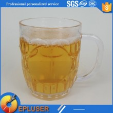 Bulk order plastic SAN 20oz drinking mug coffee cup plastic mugs with handles