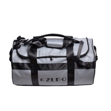GZLBO PVC 65L Folding China Product Waterproof Large Roll Bag Foldable Sport Bags Gym Mens Duffle Bags