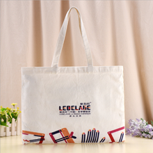 12 OZ canvas bag fashion tote custom long handle print logo cotton bag
