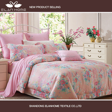 100% tencel 40s*40s embroider king size coloring duvet cover set