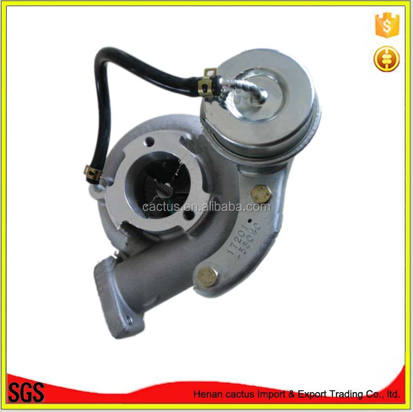 Chinese ball bearing turbo charger CT12B 17201-58051 suit for TOYOTA Supercharger 17201-58040