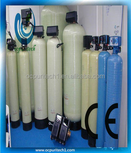 High level activated carbon filter frp water tank