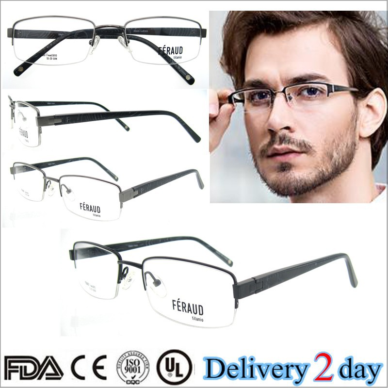 wholesale 2015 new trends half rim men titan optical frame new model eyewear frame glasses black color ultem optical frame in stock alibabacom