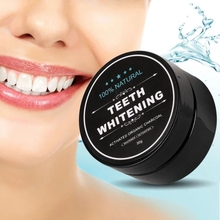 30g Daily Use Teeth whitening charcoal powder Oral Hygiene Cleaning Activated Bamboo Charcoal Powder
