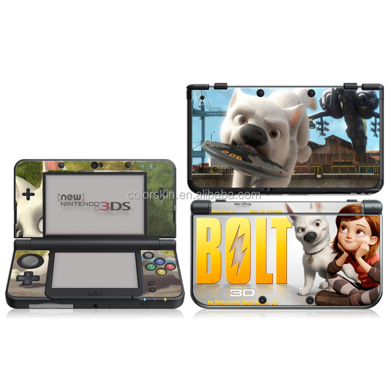 For N3DS PVC/3M skin sticker cover for 3DS
