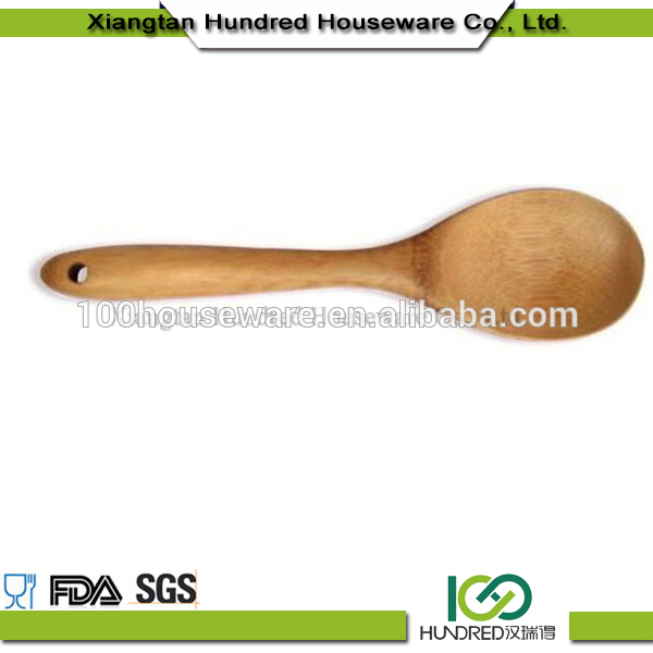 Christmas gift bamboo heart shaped spoon,wooden honey spoon,custom printed wooden spoon