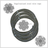 6x19 16mm steel wire rope 6x19 galvanized steel wire rope 24mm