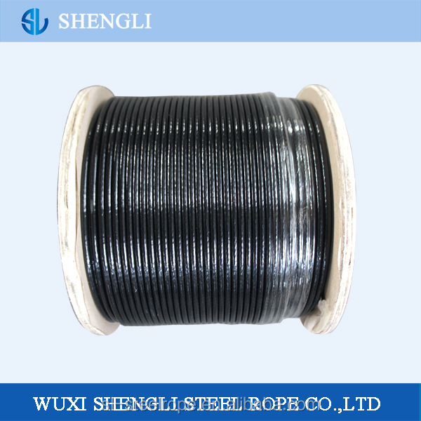 6*19+FC PVC Coated Galvanized Steel Wire Rope
