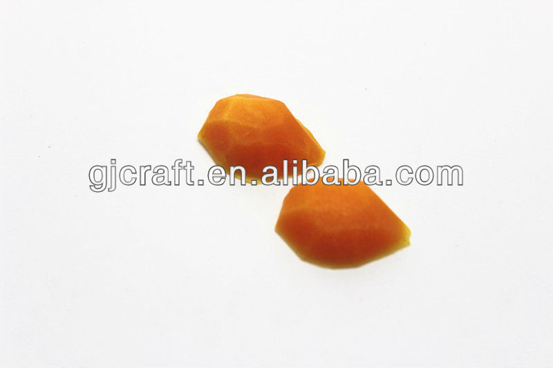 Simulated Miniature Decoration PVC Yellow Peach Plastic Fruit