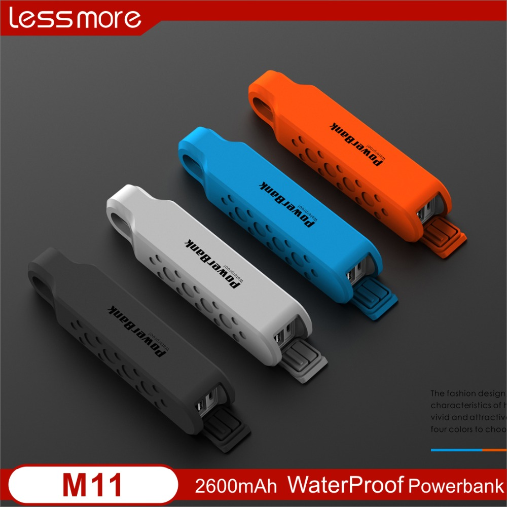 gadget 2017 innovative top ten power bank brand wholesale prices mobile power bank waterproof IPX6 power bank 2600mah