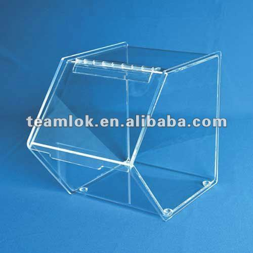 hot selling Acrylic Stackable Bulk Bins