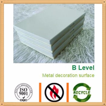 Aluminum decorative integrate thermal insulation exterior wall cladding boards