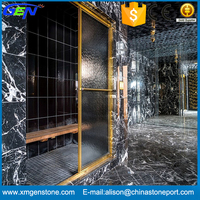 Indoor Design Polished Buffett Grey Marble Flooring Tiles Design