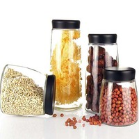 Multifunctional wholesale glass jar for home decoration