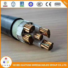 PVC/XLPE Insulated Electrical Cable in Three Phase/Electrical Cable Specifications