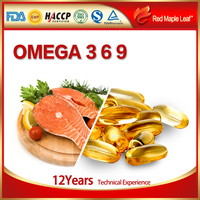 Regulation of Blood System Function and Capsules Dosage Form omega 3 6 9 Fish Oil