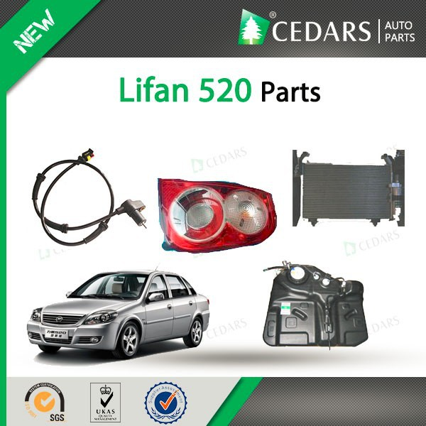 Supply high quality lifan accessories full lifan 520 parts