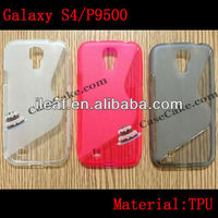 """S"" Line TPU flip cover Case For Samsung Galaxy S4 i9500"