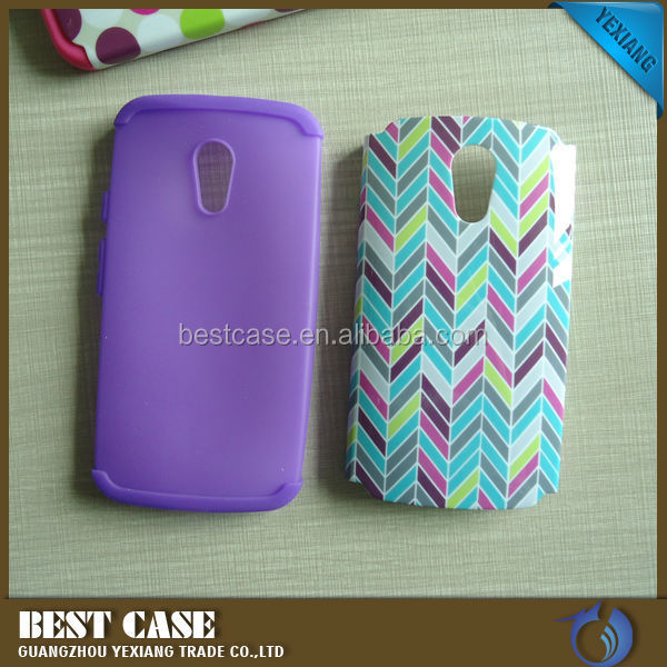 Hard Protective Case For Motorola Moto G G2 XT1063 Hybrid Cover