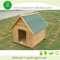 Fashional fir wood easy clean large metal dog house