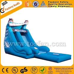 Popular design pool slide of inflatable for adult A4032