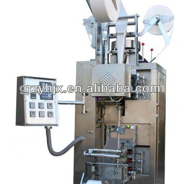 Automatic Strip Line and Tape Label in-out Tea Packing Machine