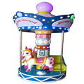 3 seats mini carousel amusement carousel rides for sale carousel horses